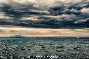 Tyrrhenian Storm in HDR by Marco Gargiulo 